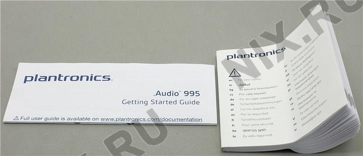 plantronics audio 995 инструкция