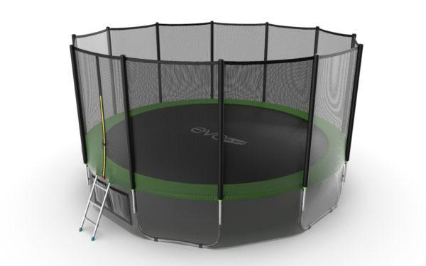 Батут EVO jump External 16ft (Green) + Lower net