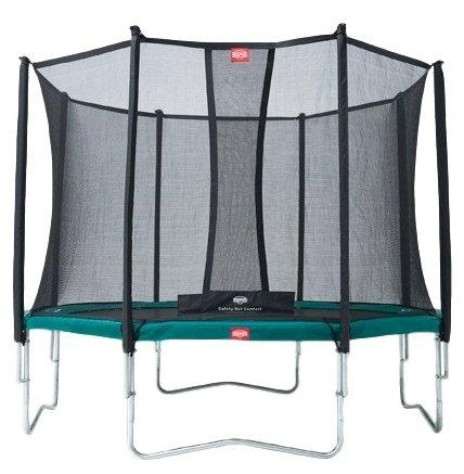 Berg Favorit 270 + Safety  Net Comfort 270 зеленый